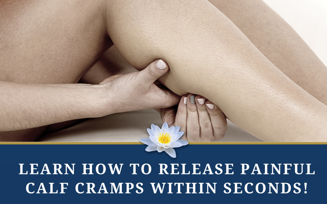Quickly Relieve Painful Calf Cramps with Therapeutic Self Massage