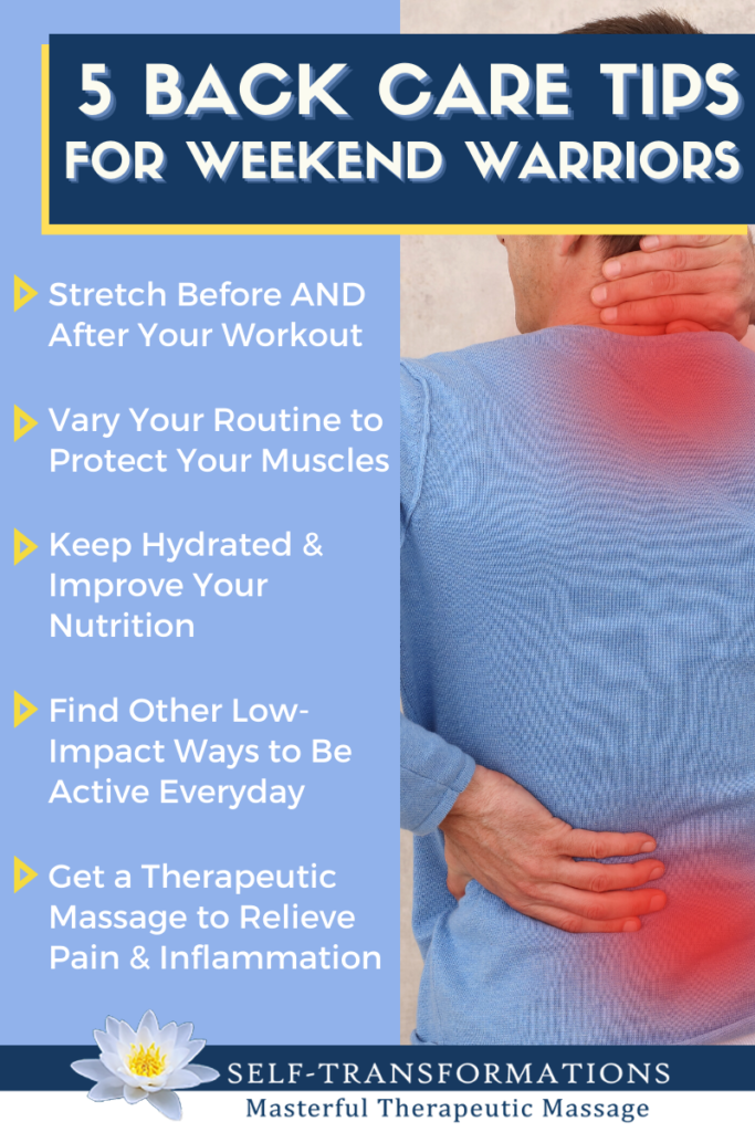 5 Back Care Tips for Weekend Warriors